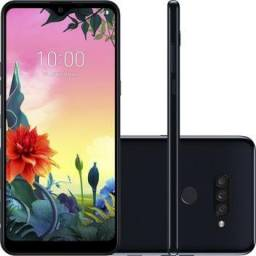 """Smartphone LG K50s 32GB Dual Chip Android 9.0 Tela 6.5"""" Octa Core"""