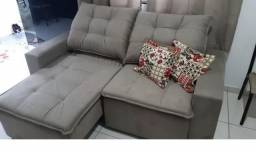 Título do anúncio: Terça Móveis - Sofá Débroa Pillow 2 m NOVO