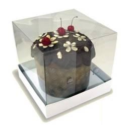 Caixas para mini panetone e mini bolo