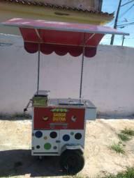 Vendo carrinho de açaí e sorvete