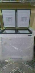 Freezer esmaltec 320 litros parcelo cartão  entrego taxa