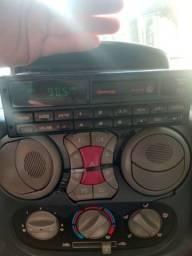 Rádio toca-fitas fic volksline exclusivo golf gti linha VW 94/ 95