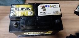 Bateria 70 amperes a base de troca com nota e garantia de 3 meses