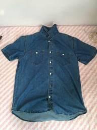 Título do anúncio: camisa jeans