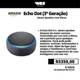Título do anúncio: Alexa - Echo Dot 3 geração