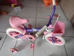 Título do anúncio: Bicicleta pra crianças até 5 anos pra vender semi nova
