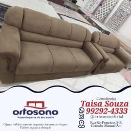 Título do anúncio: sofá sofá ¬¬ sofá sofá 2 e 3 lugares com garantia e entrega