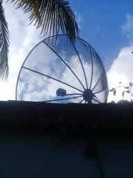 Título do anúncio: Antena parabólica