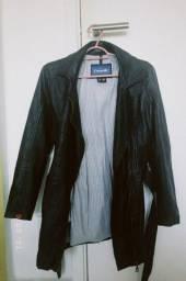 Título do anúncio: Jaqueta de couro verdadeiro
