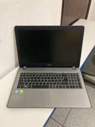 Título do anúncio: Notebook Acer I5 Nvidia Geforce 940mx 2tb Hd