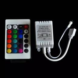 Controle e controladora de fita led