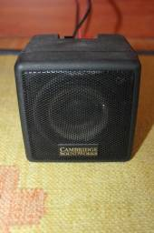 Título do anúncio: Caixa de Som Cambridge Sound Works em Plástico Preto 10 cm x 10 cm x 10 cm
