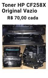 Título do anúncio: Toner HP CF258X Original Vazio