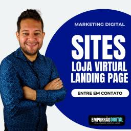 Título do anúncio: Criação de Sites Profissionais - Página de Destino - Landing Page - Sites e Loja Virtual