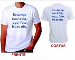 Camisa Personalizada - Frente e Verso