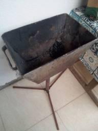 Churrasqueira de Inox tripe desmontavel