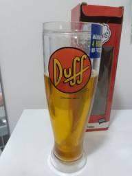 Copo Tulipa cerveja e chopp Simpsons Duff taça