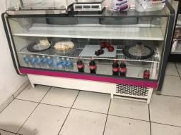 Balcão frigorífico refrigerador usado