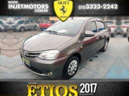 Título do anúncio: Toyota etios sedan 2017 1.5 x sedan 16v flex 4p manual