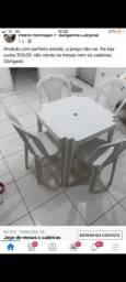 Título do anúncio: Mesa e cadeiras semi nova