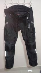 Título do anúncio: Calça X11 masculina Troy 2 preta impermeável moto