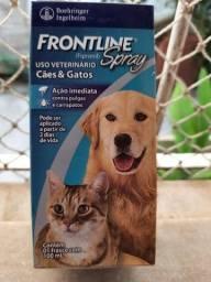 Caes e gatos - contra pulga e carrapato