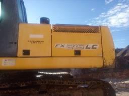 escavadeira new holland 215 fx 215lc