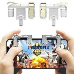 Botão R1 L1 Para Celular Joystick Gatilho Free Fire