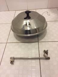 Churrasqueira náutica inox para púlpito R$800,00