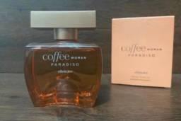 Título do anúncio: Perfume Coffee Paradiso Woman apenas testado