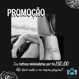 Título do anúncio: Promoção tattoo