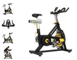 Bicicleta Spinning Kikos F9i Profissional Disco de Inércia de 18kg + Garantia de 2 anos