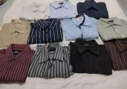 Lote 11 Camisas Sociais de Marca - N° 2