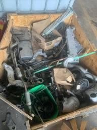 Motor MAN 17 230 Desmontando