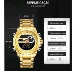 Título do anúncio: Relógio masculino naviforce original