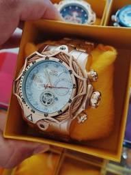 Título do anúncio: Relógios invicta primeira linha catraca giratória