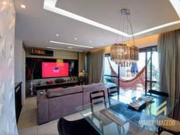 Aptº com 3 dormitórios à venda, 130 m² por R$ 900.000 - Porto das Dunas - Aquiraz/CE