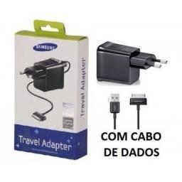 Título do anúncio: Carregador Tablet Samsung Completo Cabo + Fonte  (Entrega Grátis)