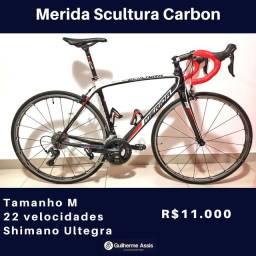 Bicicleta Merida Scultura Carbon Tam. 52-M