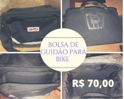 Título do anúncio: Bolsa de Guidão para Bike