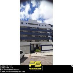 Título do anúncio: Apartamento com 3 dormitórios para alugar, 80 m² por R$ 1.700,00/mês - Aeroclube - João Pe