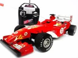 Título do anúncio: Carrinho De Corrida Com Controle Remoto F1 Deluxe Car (Entrega Grátis)