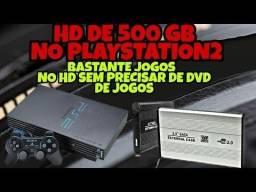 Hd 500gb Pra Ps3 - Ps2  ou xbox 360 Destravado ( lotado de jogos )
