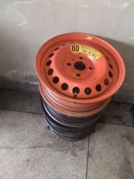 Roda de ferro hb20 aro 14