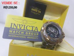 Relógio - Invicta Reserve Thunderbolt Chronograph W/R 500 MT