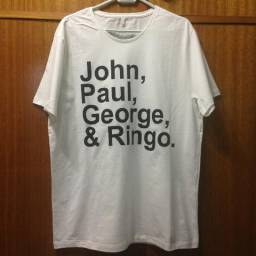 Camiseta Nomes Beatles