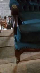 Sofa Captone Azul - Espanhol -