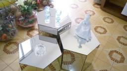 Mesa de centro (3 peças espelhadas)