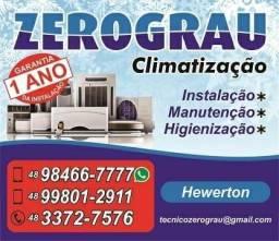 Instalação e manutenção ar com