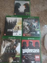 Jogos Xbox one 5 por 200